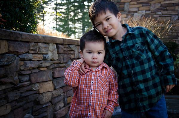 Aidan and Kai
