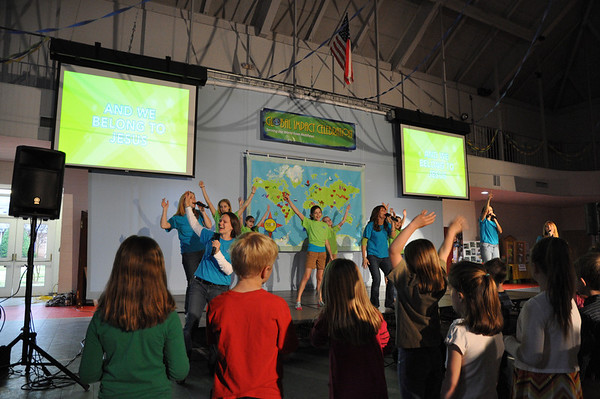 MUMC Global Impact Celebration 2011 SERVING THE WORLD FROM MATTHEWS