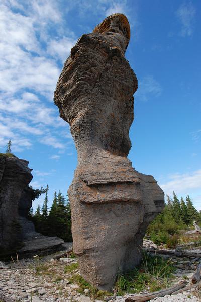Dame de Niapiskau - Parc national de l'Archipel de Mingan