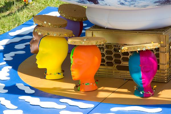 Enjoying the Art Fair on Governors Island - June 7, 2015