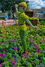 Peter Pan Topiary 2012<br /> Peter Pan Topiary at Epcot for the 2012 Flower & Garden Festival