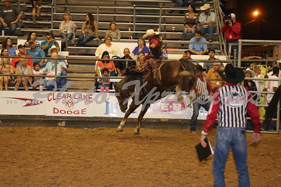 Saddle Bronc Riding Wednesday