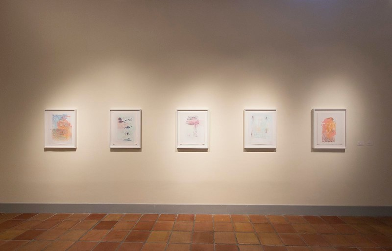 Liz Rodda, Clockwise, September 2013, Installation View