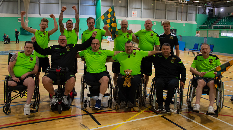 GBWR Wheelchair Rugby 5s Summer League Finals day, Stoke Mandeville Stadium, 1 September 2018