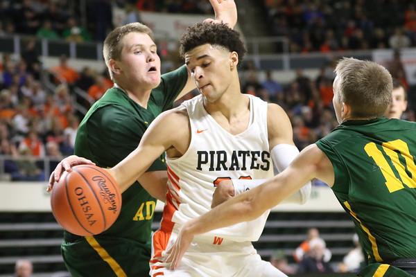 24 Boys Basketball:  Wheelersburg vs. North Adams 2019