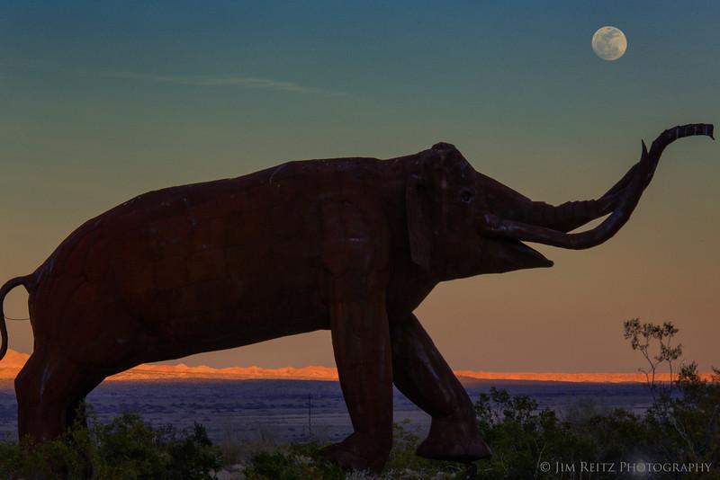 Mastodon Moonrise