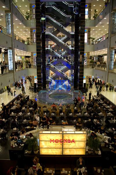 Ewropeyski Shopping Mall, Moscow, 2007