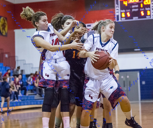 LBHS Girls JV Basketball vs  Seminole - Dec 4, 2018