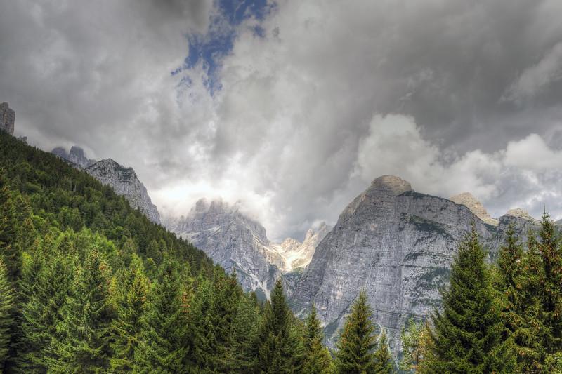 Croz dell'Altissimo - Pian dei Casinati, Molveno, Trento, Italy - August 10, 2012