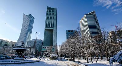 Winter in Warsaw 2015