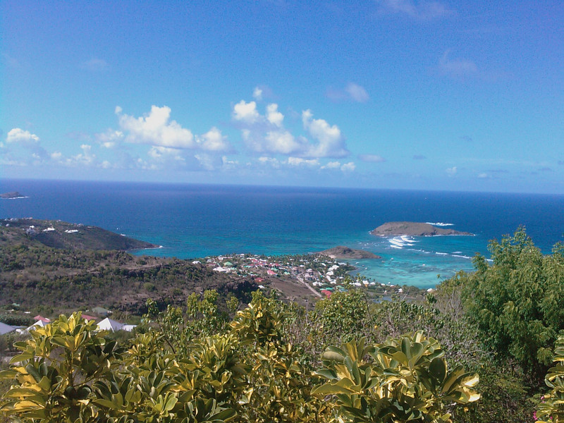 St Barth - View from the villa  Just exceptionnal! view from the villa AIA