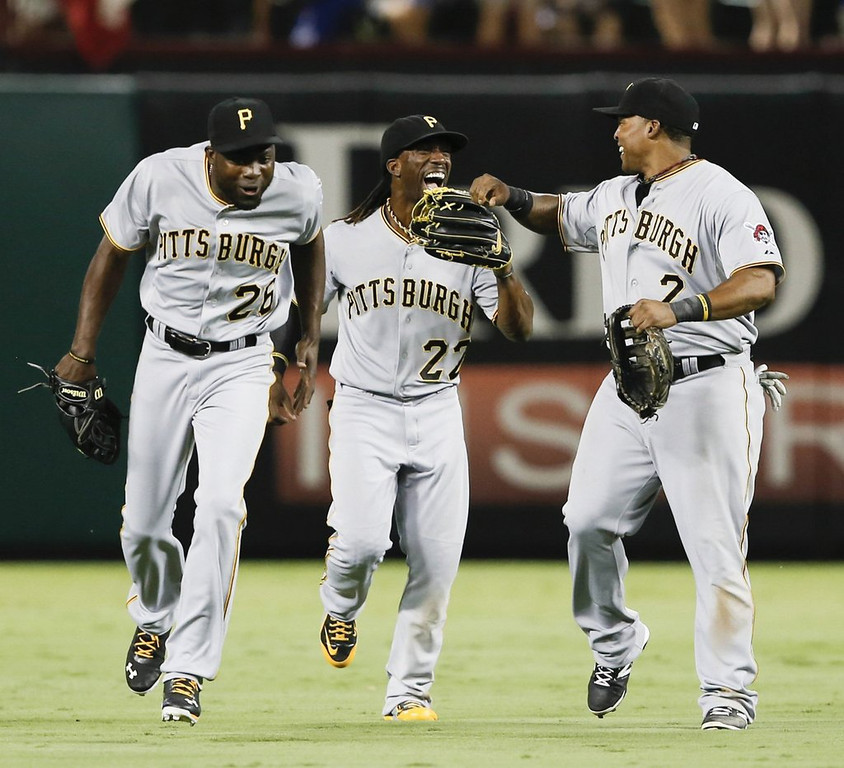 ". <p><b> The Pittsburgh Pirates, after two decades of futility, have done this for the first time since 1992 � </b> <p> A. Clinched a winning record  <p> B. Earned a playoff berth  <p> C. Sold out a home game  <p><b><a href=\'http://www.post-gazette.com/stories/sports/pirates/pirates-secure-first-winning-season-since-1992-with-1-0-win-over-rangers-702649/\' target=""_blank\"">HUH?</a></b> <p>    (Jim Cowsert/Fort Worth Star-Telegram/MCT)"