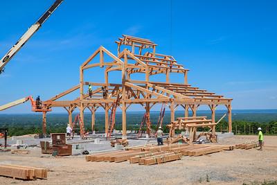 New Energy Works Barn Raising