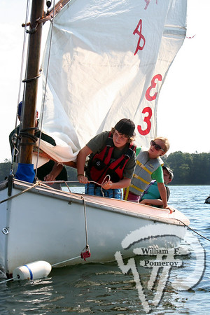 APBY Sailing School — morning class — Orleans, MA7 . 29 - 2008
