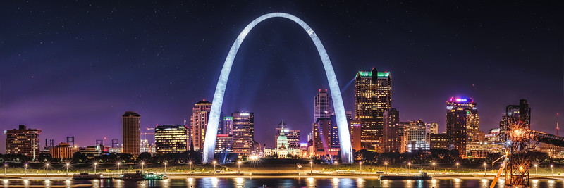 Panoramic Saint Louis