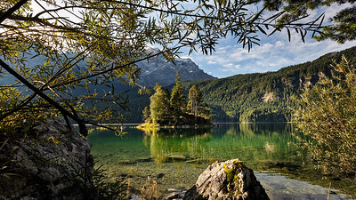 last day of summer at lake Eibsee