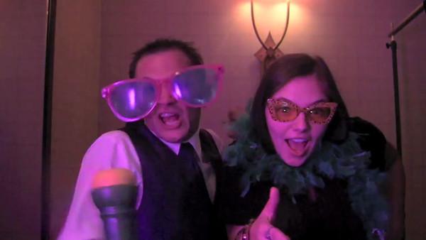 Samantha & Antonio Wedding Photo Booth Hidden Video
