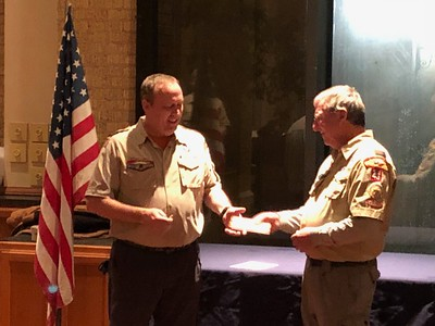 2018 02 Scoutmaster Ceremony