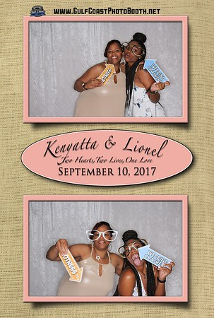 Kenyatta & Lionel Photo Booth September 10, 2017
