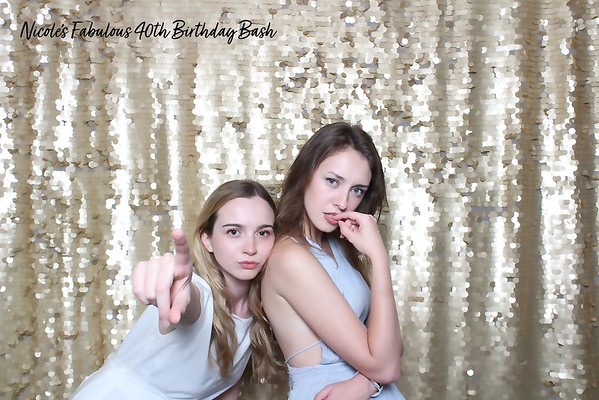 Nicole's 40th (Color SkinGlow Booth)
