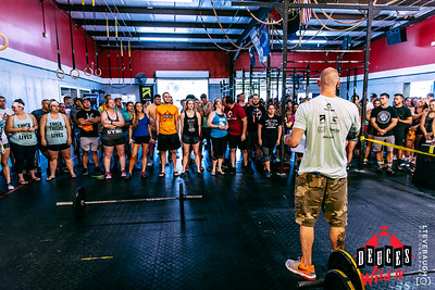 Deuces Wild IV at CrossFit Pinnacle 08.05.17