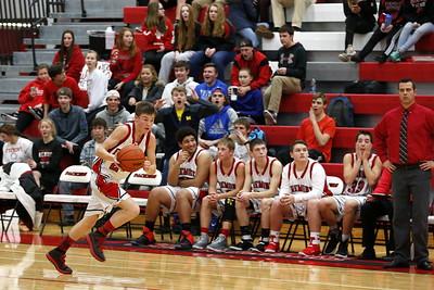 Boys JV Basketball - 2/2/2017 Reed City