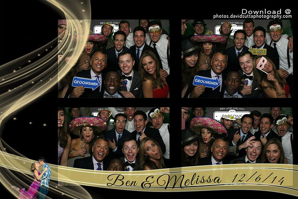 Ben and Melissa's Photo Booth