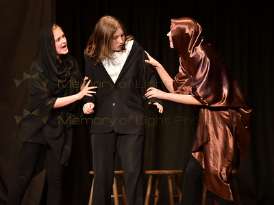 Wellington Girls' College: King Lear - Act I sc i