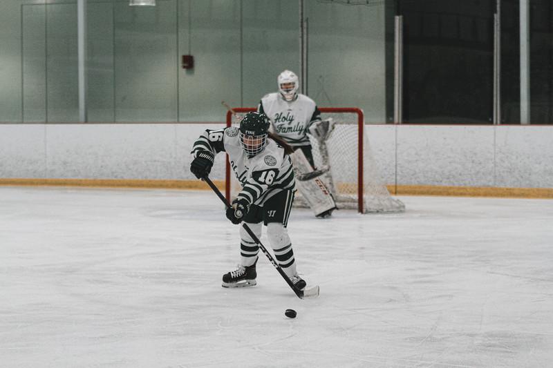 Holy Family Varsity Girls Hockey vs. Waconia, 1/9/20: Maddie Morgan '22 (16)