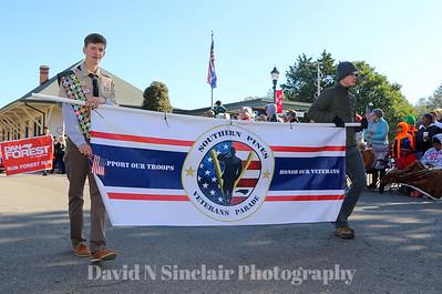 2019 Moore County Veterans Parade