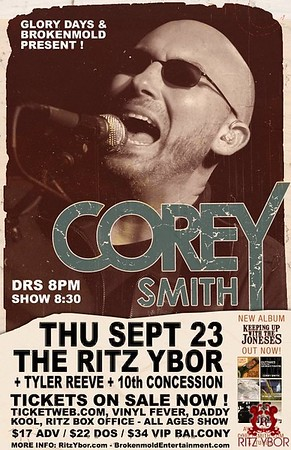 Corey Smith / Tyler Reeve September 23, 2010