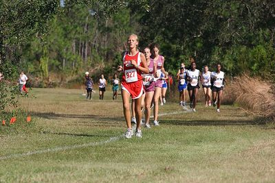 Region 4 Cross Country Girls Race