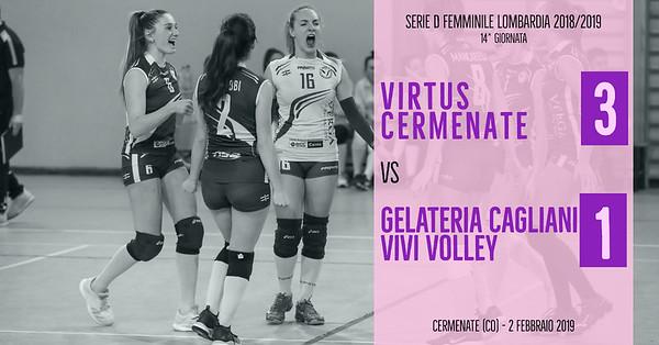 LOM-Df: 14^ Virtus Cermenate - Gelateria Cagliani Vivi Volley