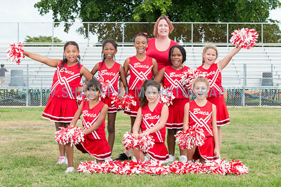 MYC Cheerleading Photo Day