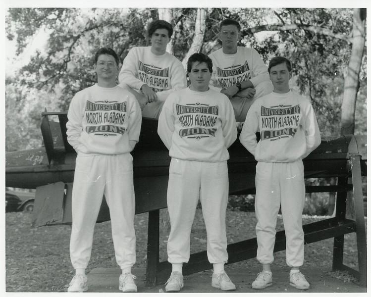 UNA Rifle Team - 1990