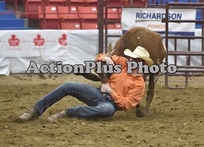 17MFR Steer Wrestling