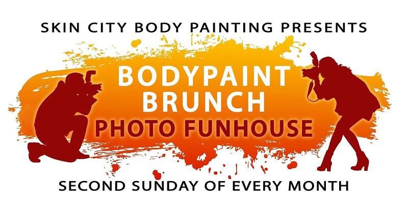 January 2017 Bodypaint Brunch Photo Funhouse