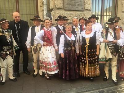 Delegacja ZPPA na 100 leciu Związku Podhalan w Polsce.