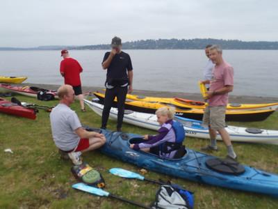 Intro to Sea Kayaking (July 2013)