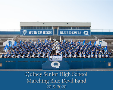 QHS Marching Band Groups - Sections - Candids