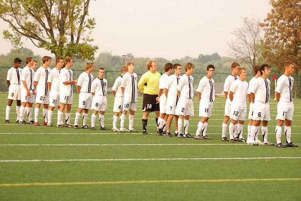 Mens Varsity Soccer vs. Princeton 07-08