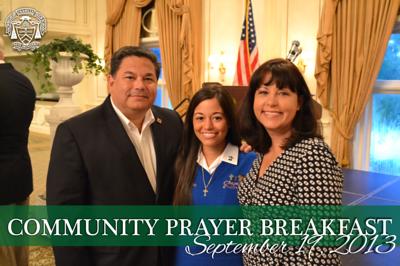 Community Prayer Breakfast 2013