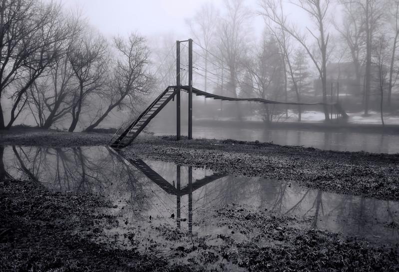 reflections - footbridge fog cabin drive(p, 253).jpg
