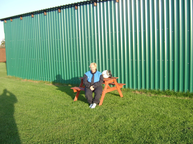Lesley at Newnham