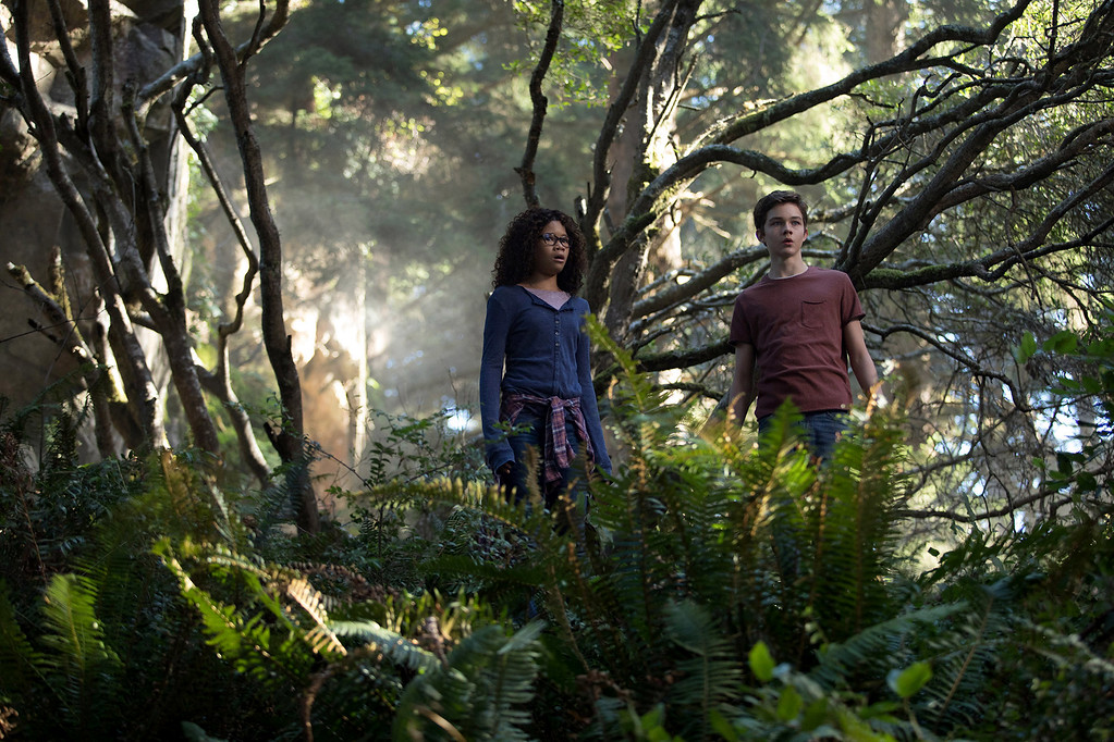 . In �A Wrinkle in Time,� Storm Reid plays Meg Murry, a misunderstood middle-schooler who, along with her friend Calvin (Levi Miller), goes on an interplanetary adventure.  The movie is in theaters March 9. (Walt Disney Pictures)