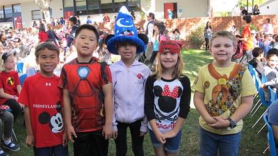PCY Turns Spirit Rally Into Disney Festival