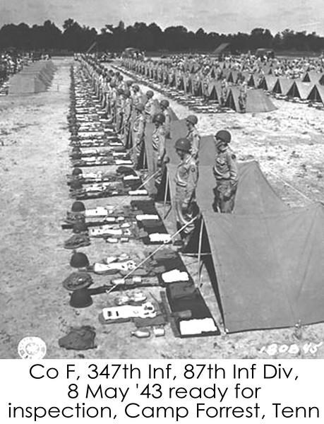 Camp Forrest War Pictures