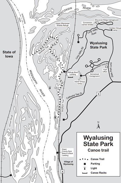 Wyaulsing State Park (Canoe Trail)