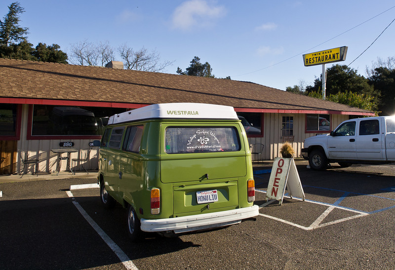 Our first good restaurant, unexpected at Los Alamos. Don't pass it up for breakfast.