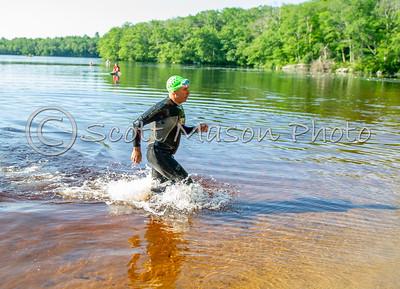 Rough Patch Tri 2019. Swim/Paddle/Transition